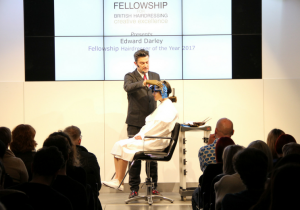 Edward Darley - Fellowship Hairdresser of the Year 2017