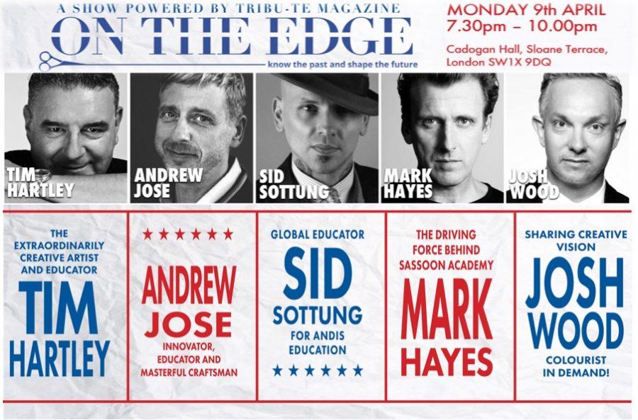 Josh Wood joins On The Edge