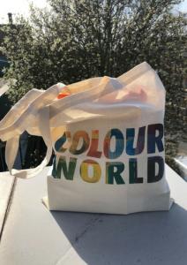 Colour World goodie bag