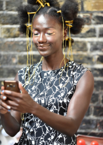 Charlotte Mensah model