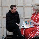 John Vial with Julie Verhoeven