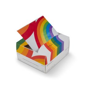 Foil Me rainbow box