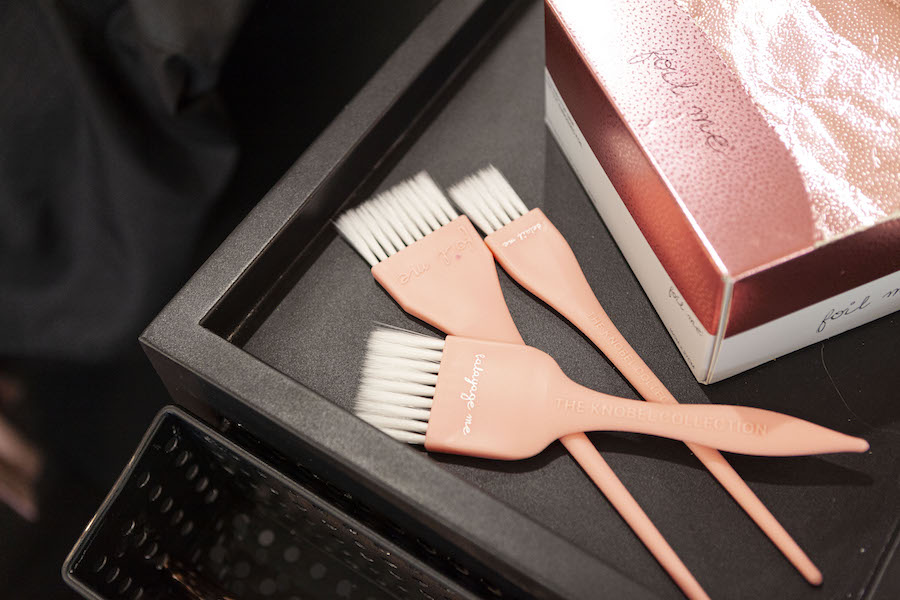 Brushes and Foil Me box